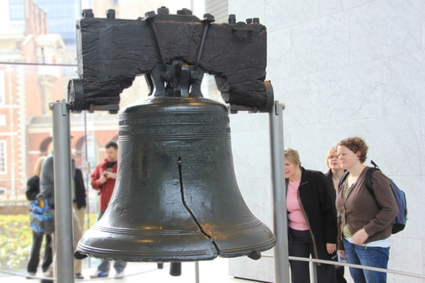 Liberty Bell in Philadelphia, PA