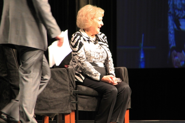 Betty White at the 2012 PLA Convention in Philadelphia, PA