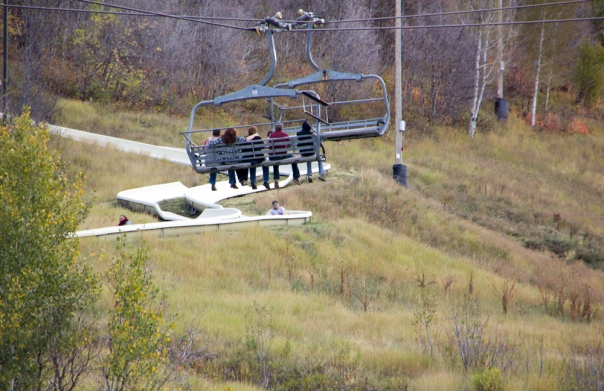 Spent an afternoon at Park City and enjoyed the Alpine slide and coaster. Pure fun!